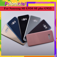 battery samsung galaxy 10Pcs/lot For Samsung Galaxy S8 G950 G950F SM-G950F S8+ Plus G955 G955F SM-G955F Housing Battery Door Rear Back Glass Cover Case (3)