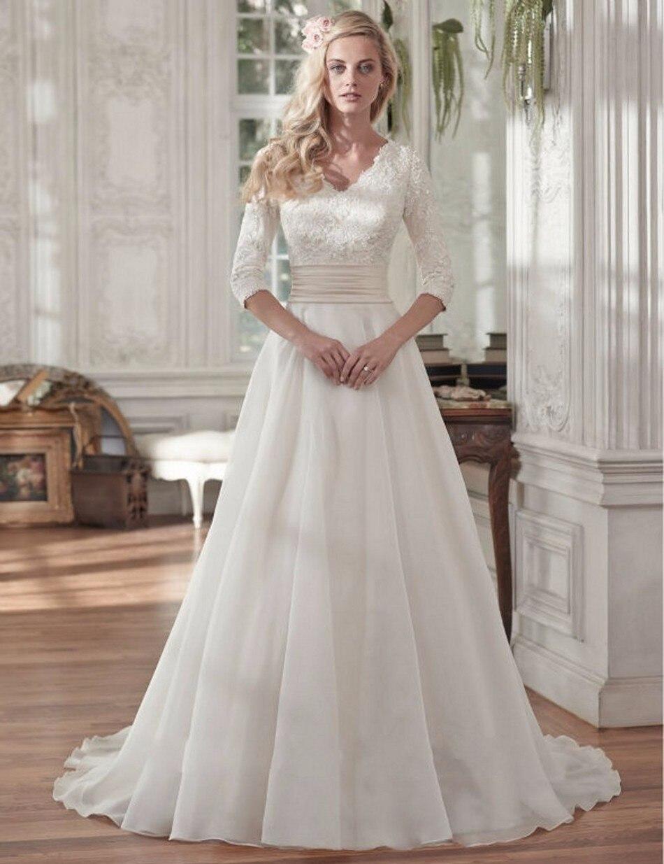 Online Get Cheap Cheap Simple Wedding Dresses -Aliexpress.com ...