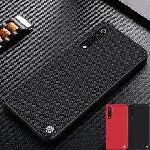 Funda para Xiaomi Mi 9 NILLKIN, funda de fibra de nailon texturizada, duradera, antideslizante, fina y ligera, funda trasera para Xiaomi Mi9 Explorer