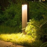 Thrisdar Paisagem Gramado Luz Ao Ar Livre Impermeável Villa Pátio Com Jardim Pilar Luz Caminho Quintal Parque de Rua Poste de Luz Da Lâmpada