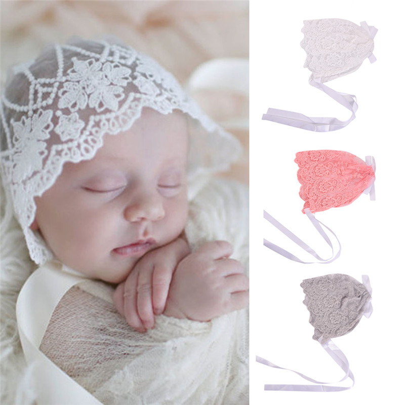 Toddlers Hat Baby Princess Embroidery Cap Newborn Girl Lace Cap Baby ...