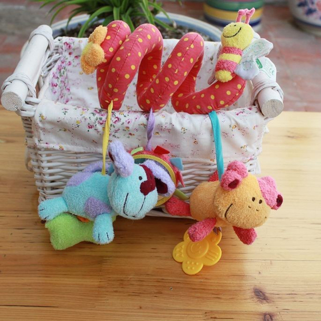 Free Shipping - High quality multifunctional elc animal bed car lathe hang red paragraph BABY bedding toys WJ135