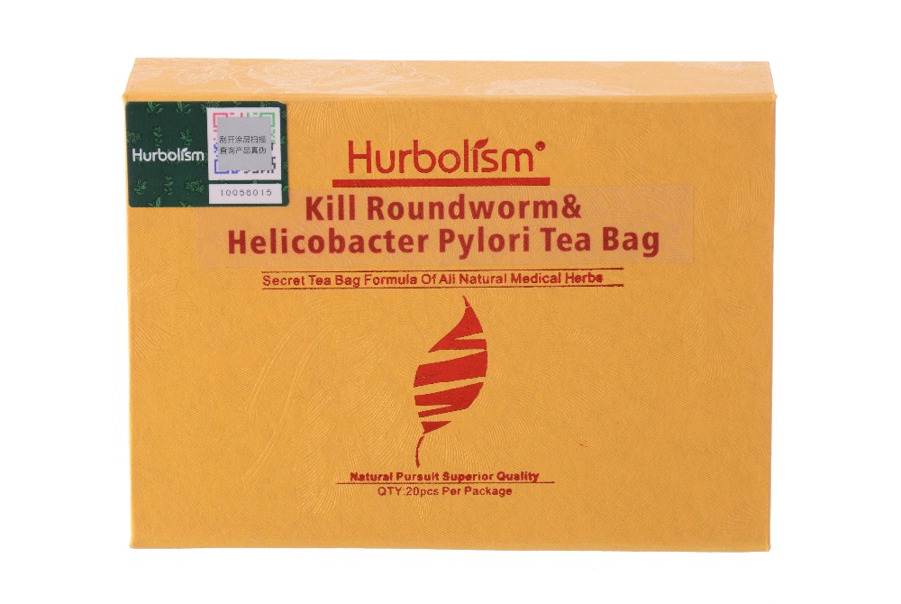 Hurbolism kill roundworm & helicobacter pylori Tea Bag of Natural formula kill parasites, Protect Internal Organs, clean haslet