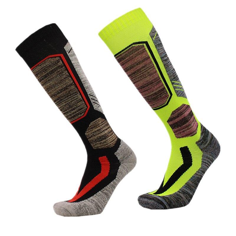 JDENKE Ski Socks Winter Warm Men Women Outdoor Cycling Snowboarding Hiking Sport Socks Thicker MS1704001