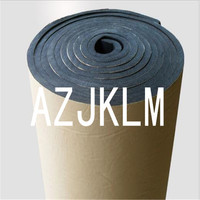 100 x 1000cm Roll ACOUSTIC Proofing Sound Radio Audio Road Noise Deadener Car Trunk Bonnet Roof Underlay Black Adhesive Mat EMS