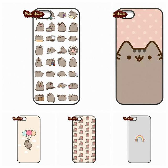 100% authentic ca9a2 43c8a US $4.95 |Funny Pusheen The Cat Gifs Phone Cover Cases For LG Nexus 5 D820  D821 E980 Sony Xperia Z Z1 Z2 Z3 Z3 Z4 Z5 Compact M2 C C3-in Half-wrapped  ...