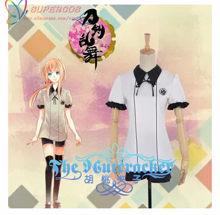 High Quality Touken Ranbu Online Midare Toushirou Internal Uniform Cosplay Costume ,Perfect Customized For You !