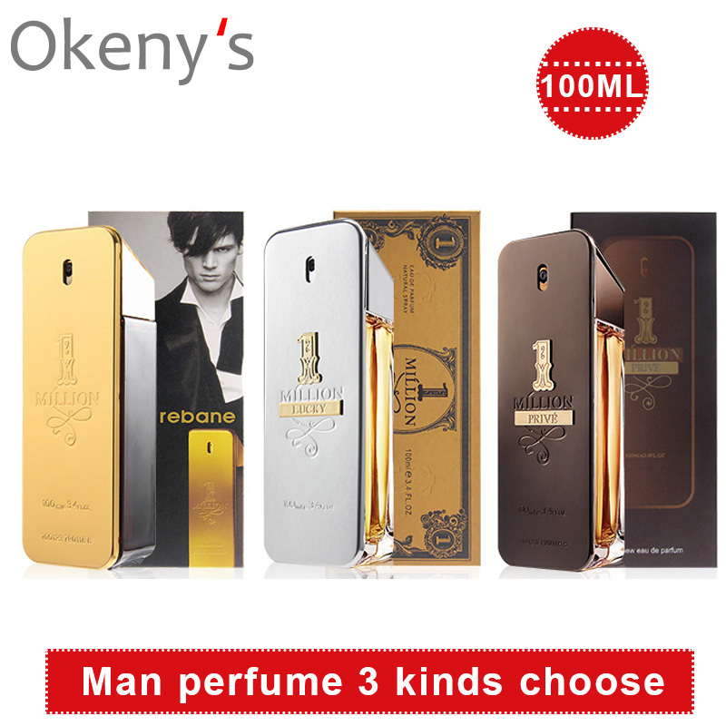 100ml Perfume Fragrance Men Body Spray Glass Bottle Male Perfume Eau De Toilette Long-lasting, Light And Elegant, Tempting Charm