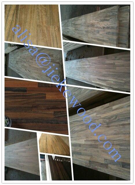 Verkauf Afrika Ebenholz Massivholz Arbeitsplatten Kuche Holz