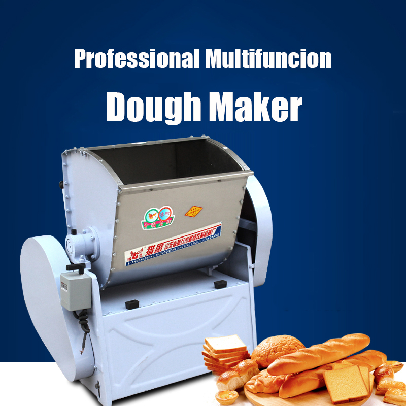 Professional Dough Maker Commercial Large-scale Dough Kneading Machine Electric Dough Making Machine Dough Mixer 1500W HWT25 large scale organizational change