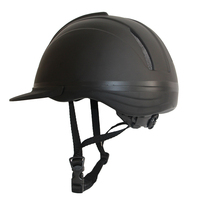 Unisex Horse Riding Helmet Kids Equestrian Equipment Adjustable velvet Safety Head wear Protection Anti collision Hat