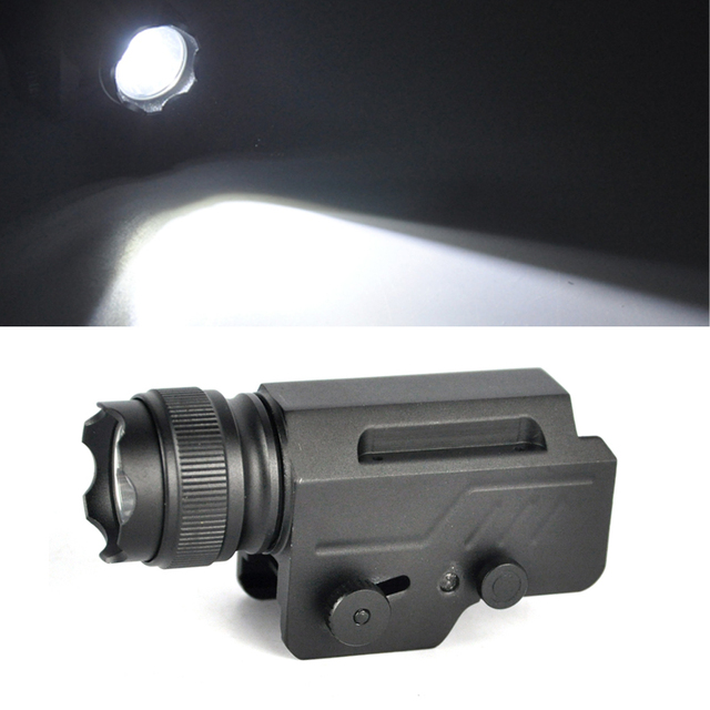 Boruit Security XML L2 LED 2000 Lumen Tactical Gun Flashlight Torch 1-Mode LED Flash Light Lantern Emergency Light