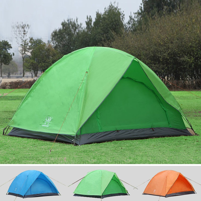 Portable Outdoor Hiking Fishing C&ing Tent Dome Cabin Rainproof Windproof Double Layer 2 Person Tent with & Online Get Cheap Personal Rainproof Tent -Aliexpress.com | Alibaba ...