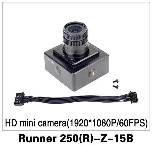 Freies Verschiffen Ursprüngliche Walkera Runner 250 Voraus Propeller Ersatzteile HD mini kamera (1920*1080 P/60FPS) Runner 250 (R)-Z-15