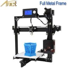 Hot Sell Anet A8 A6 A2 E10 3D Printer 0.4MM Standard Extruder Dimeter Prusa i3 3D Printer Tools with Free 1.75MM PLA Filaments все цены