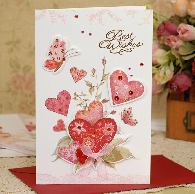 Aliexpress Buy Sweet Handmade Card For Friendbirthday