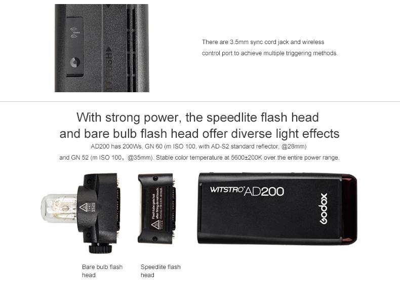 Godox Outdoor Flash Pocket Flash AD200 (5)