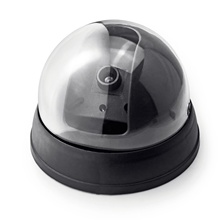 False camera simulation virtual waterproof outdoor dome camera closed-circuit television home monitoring safety flash LED light waterproof camera with flash simulation monitor