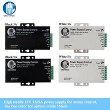 Access Control Power Supply Power SWITCH Controller DC 12V 3A/5A AC90 ~ 260V ไม่มี/ NC สำหรับทุกประเภทล็อค Time Delay