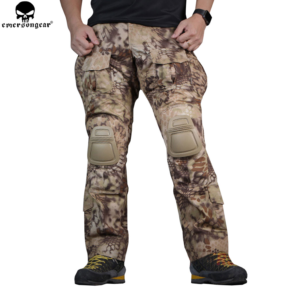 EMERSONGEAR G3 Combat Pants BDU Army Airsoft Paintball Hunting Trousers Tactical Pants Highlander EM7047 emersongear g3 combat shirt pants military bdu army airsoft tactical gear paintball hunting uniform bdu atacs au emerson
