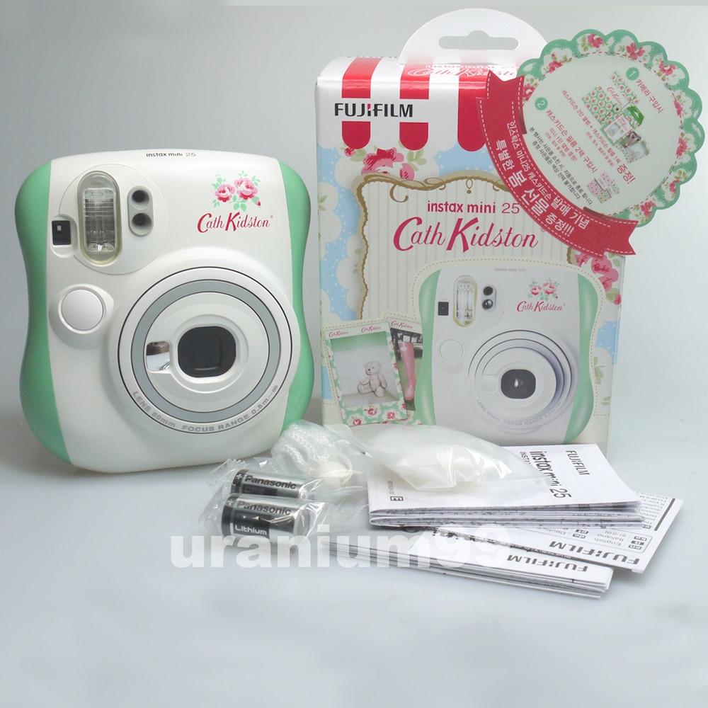 Aliexpress Buy Polaroid Fuji Fujifilm Edition Mint Green Blossom Flower Instax Mini 25 Little Instant Film Photo Camera From Reliable Meter