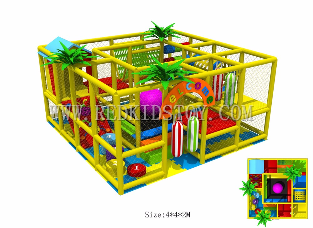 US $2350 0 |Exported to USA Safety Kindergarten Indoor Playground 20 Years'  Manufacturer 160725a-in Playground from Sports & Entertainment on