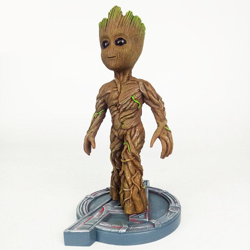 Marvel Avengers 3 Infinity War Groot Action Figure Thor Toy Spuer Hero PVC Collection Model Dolls For Kids Children Boy Gifts цена