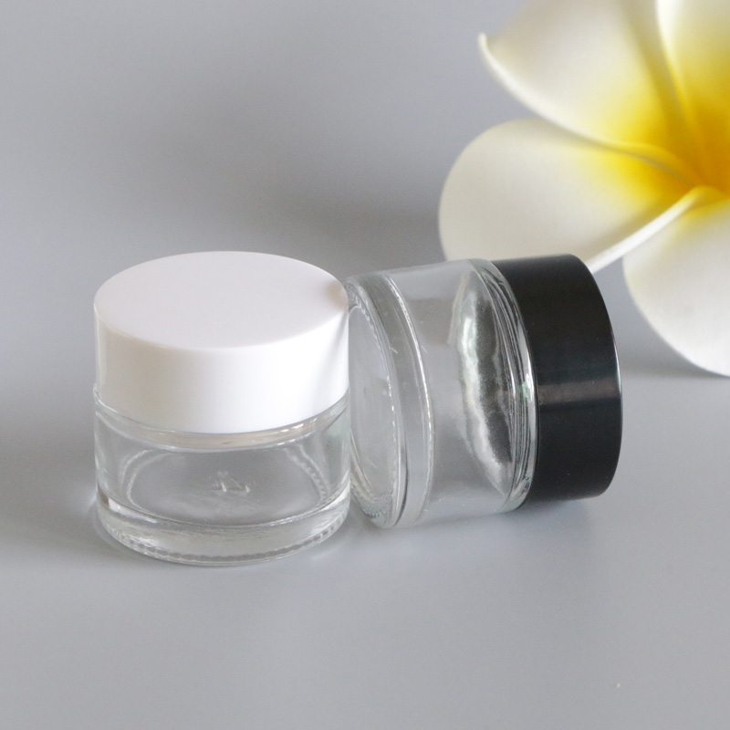 Купить с кэшбэком 10G Frosting Glass Empty Hand Moisturizer Cream Pot Jar Eye Face Feet Sunscreen Cream Mask Container Body Lotion Packaging 12pcs