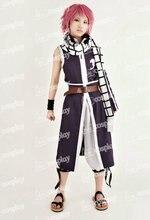 Anime Fairy Tail Natsu Dragneel Cosplay Púrpura Ropa de Traje de Los Hombres de Las Mujeres Unisex