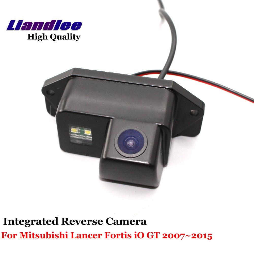Liandlee Car Rear Reverse Camera For Mitsubishi Lancer Fortis iO GT / Galant 2007~2015 Backup Parking View