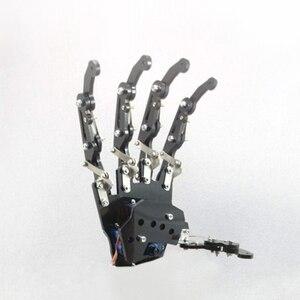 Набор роботов iSmaring для самостоятельной сборки, 5 dof, набор из 5 пальцев, металлические механические лапы, левые и правые руки, радиоуправляемы...