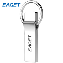 Eaget Metallic Key Ring USB Flash Drive 8GB USB 2.zero Waterproof Mini Reminiscence Stick 16GB Pen drive U Disk 32GB Desktop Laptops PC U9H