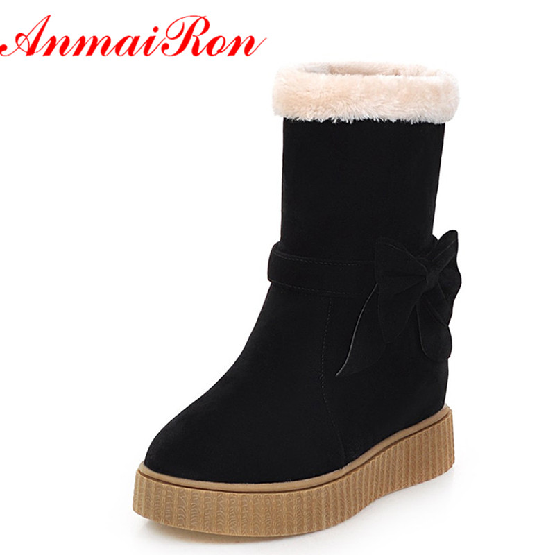 ANMAIRON Bowties Charms Shoes Woman 3 Colors Black Shoes High Heels Height increasing Ankle Boots for Women Winter Snow Boots laptop keyboard for hp for envy 4 1014tu 4 1014tx 4 1015tu 4 1015tx 4 1018tu backlit northwest africa 692759 fp1 mp 11m6j698w