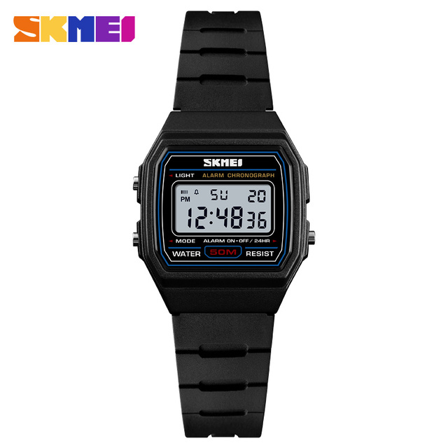 18e9de80699 SKMEI Sports Style Kids Watches Alarm Clock Waterproof Watch Luminous Digital  Wristwatch Relogio Children Watch 1460