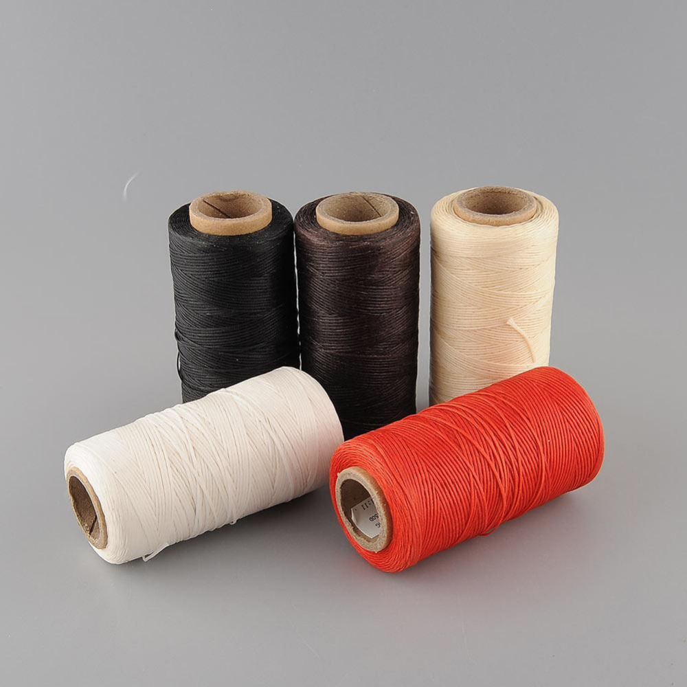 260 Meter Waxed Thread Machine Borduurgaren Hilo Encerado Hilo Para Bordar Hilos De Bordar Filt Broder Craft Supplies