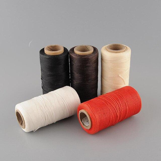 1dc865fef8d5 US $3.97 10% OFF 260Meter Waxed Thread Machine Embroidery Thread Hilo  Encerado Hilo Para Bordar Hilos De Bordar Fil a Broder Craft Supplies-in  Thread ...