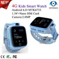 4G горячая Распродажа 2018 Детские умные часы с Умной сигнализацией 2MP камера wifi gps трекер Детские умные часы детский безопасный монитор детски