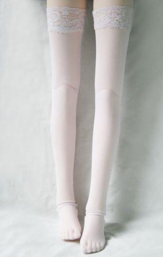 [wamami] 12# White 1/3 SD DOD BJD Dollfie Sexy Fishnet Stockings/Socks 1 3 1 4 1 6 1 8 1 12 bjd wigs fashion light gray fur wig bjd sd short wig for diy dollfie