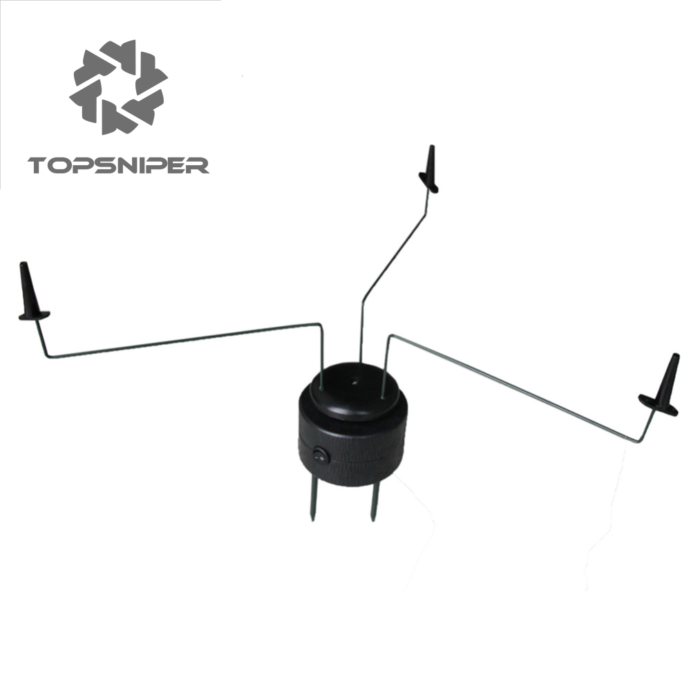 NEW Topsniper Black Triple PIGEON ROTARY Magnet Hunting Decoys Shooting TACTICAL Stalking  велошлем bell