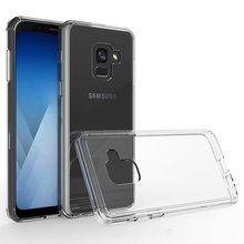 Dirt Resistant Shock Absorption Phone Case For Samsung Galaxy A8 2018 A530N SM-A530N Anti Skid Soft TPU Rubber