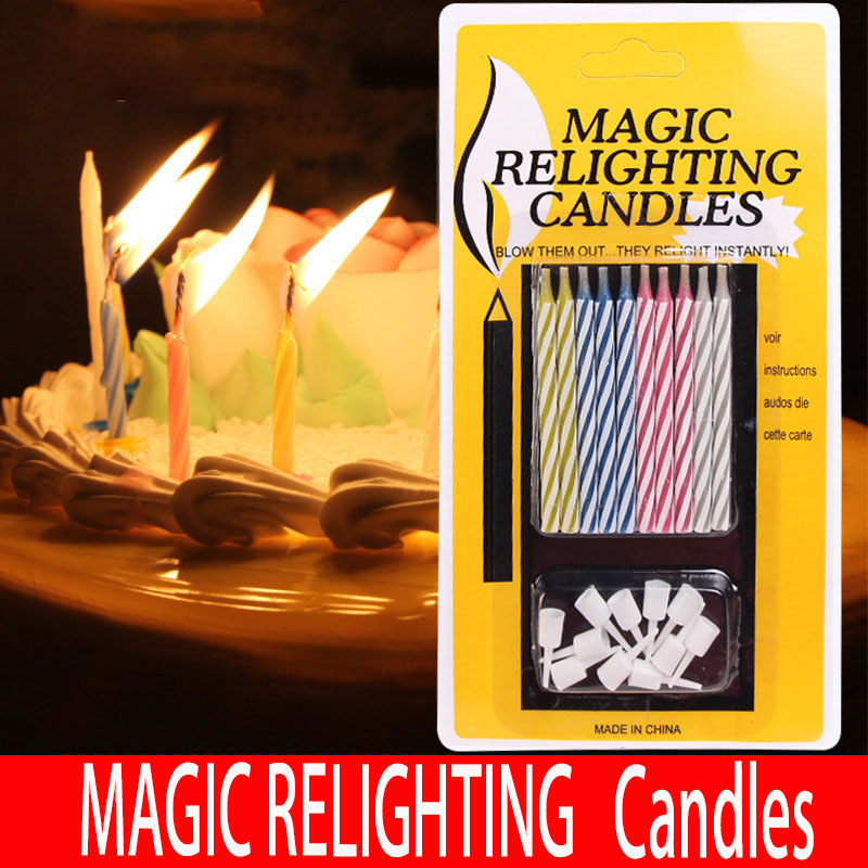 Magic Relighting Birthday Candles Scented Candle Shop