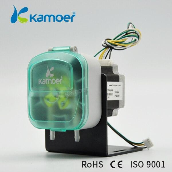 Kamoer KDS 24 В Перистальтический водяной насос с шаговым двигателем и BPT/силикон/витон трубки