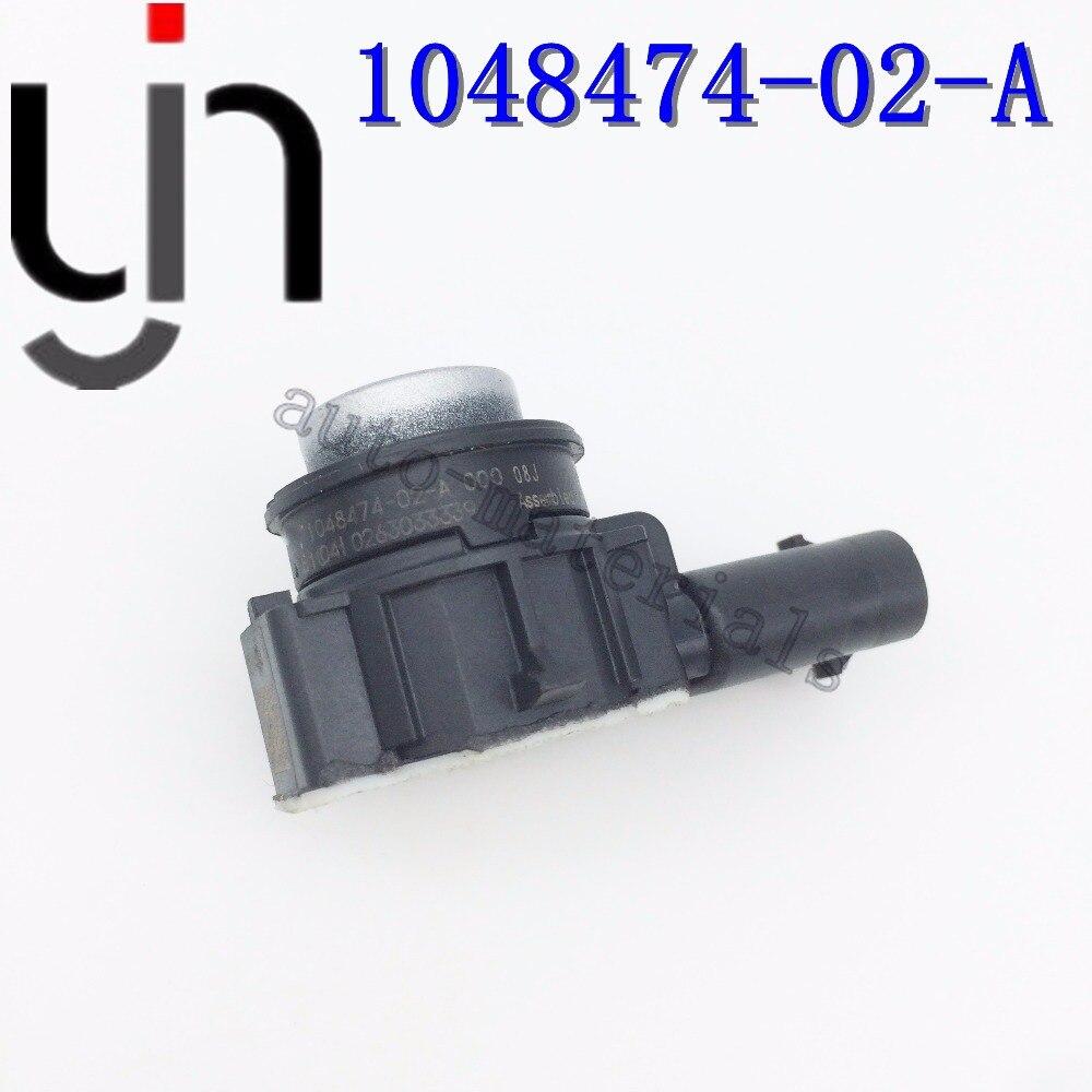 4 sztuk PDC wspomagania parkowania samochodu czujnik prawdziwej 1048474-00-A 1048474-01-A 1048474-02-A 0263033349 dla 70 S 90 S P90D z pierścieniami zderzak