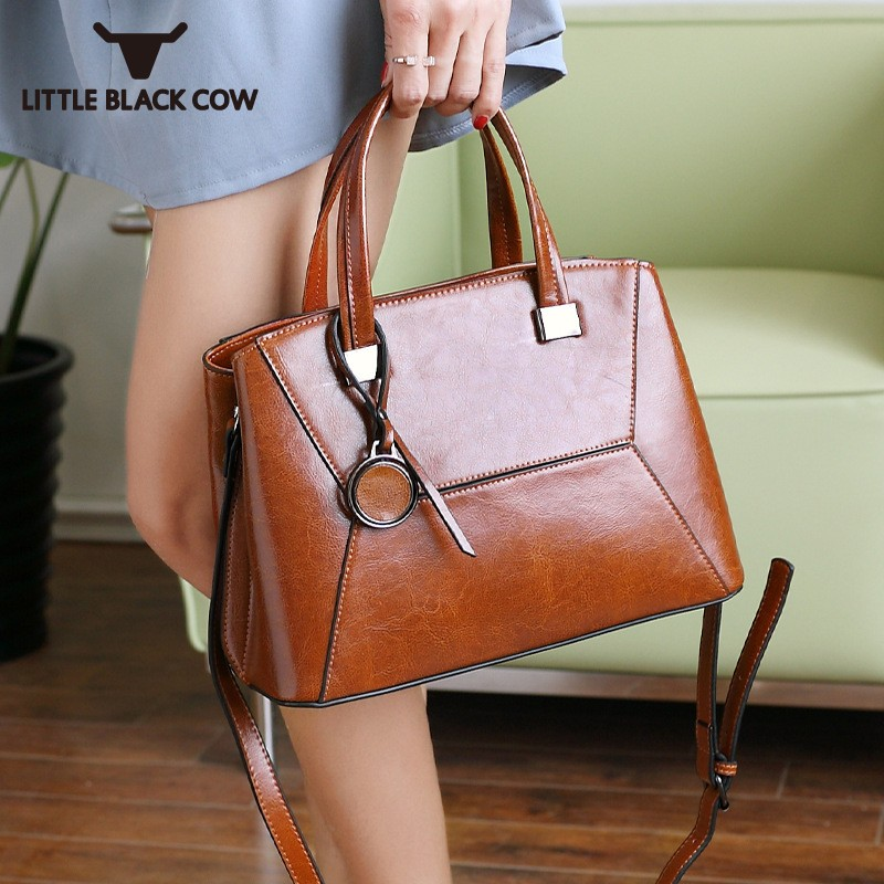 2018 New Split Leather Women Bags Fashion Brand Leather Tote Party Shoulder Bag Top Quality High Capacity Ladies Crossbody Bags2018 New Split Leather Women Bags Fashion Brand Leather Tote Party Shoulder Bag Top Quality High Capacity Ladies Crossbody Bags