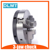 3-jaw chuck K01-50 50mm  2 inch linkage  machine tool accessories manual chuck threaded hole for mini lathe woodworking