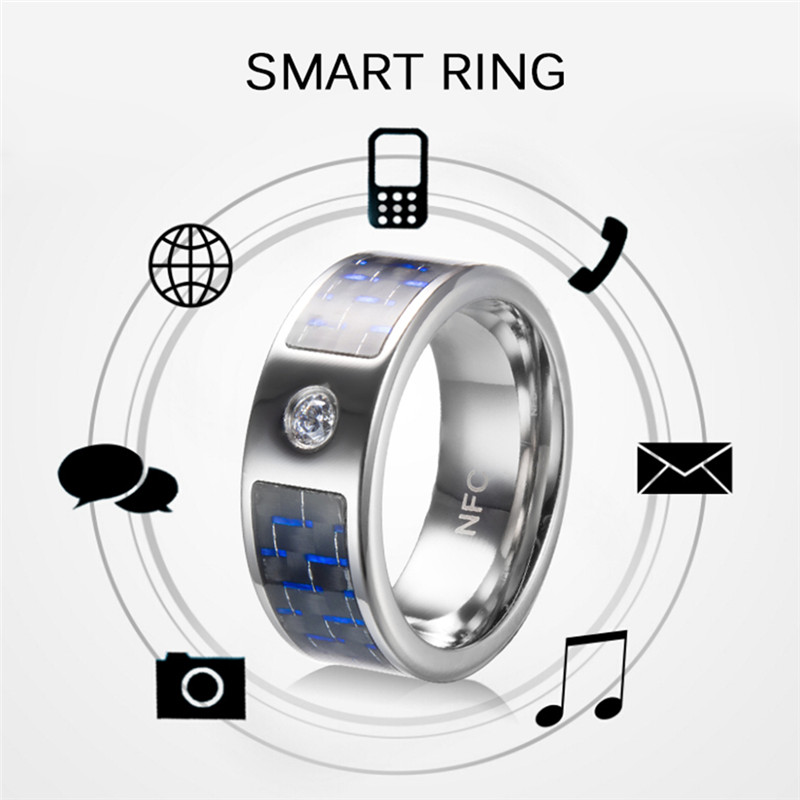 1Pc Smart Ring Wear R3 R3F Timer2 Carbon Fiber Technology Titanium Magic Finger NFC Ring For Android Windows NFC Mobile Phone