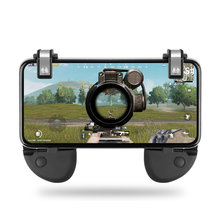 For PUBG STG FPS Game Trigger Cell Phone Mobile Controller Fire Button Gamepad L1R1 Aim Key Joystick for iphone Android fortnit(China)