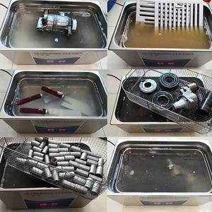 Image 3 - Цифровой ультразвуковой очиститель Granbo, 22 л, 900 Вт