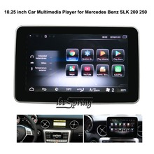 10.25 inch Car Multimedia Player for Mercedes Benz SLK 200 250 with GPS Navigation MP5 Wifi