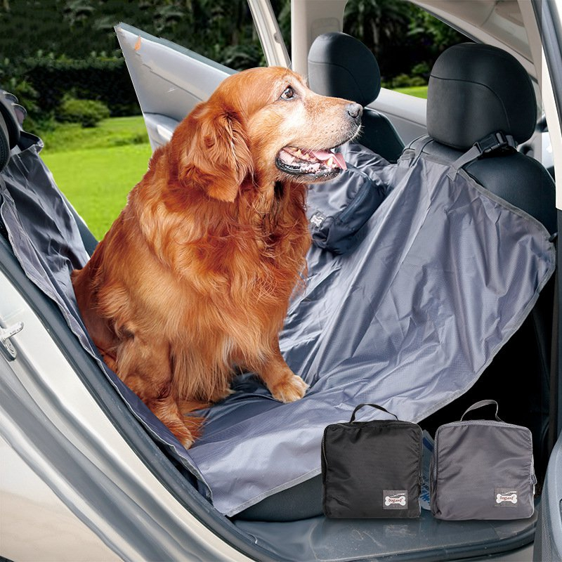 High Quality Folding Mutifuntional Outdoor Pet Car Blacket Mattress Waterproof Oxford Car Rear Back Seat Dog Cat Mat